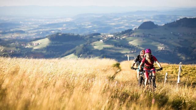 Randonnées à vélo et en VTT