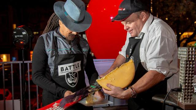 Raclette tasting party