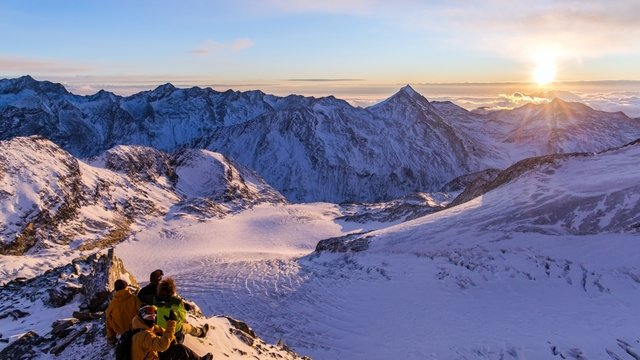 Sunrise Skiing