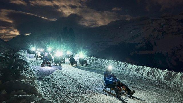 Night sledging