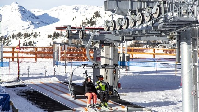 New Rotsé chairlift