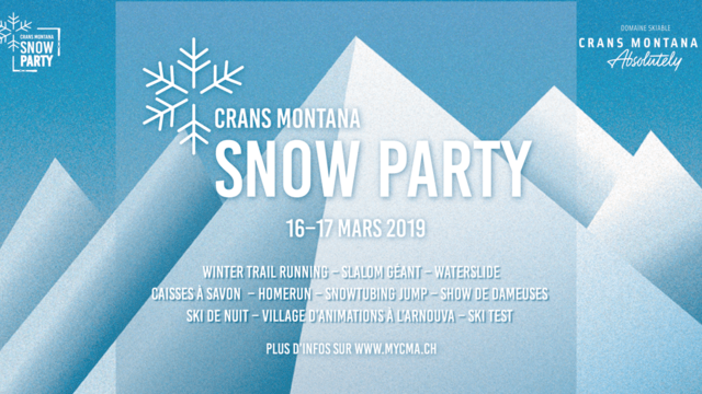 Crans-Montana Snow Party