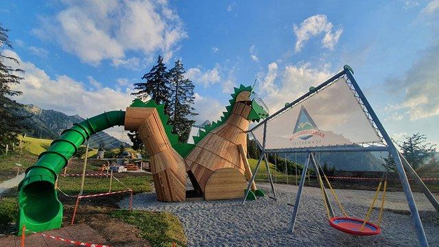 Playground on the Riggisalp