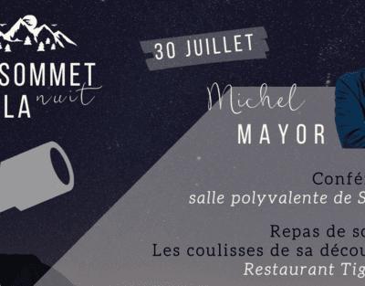 Michel Mayor in St-Luc